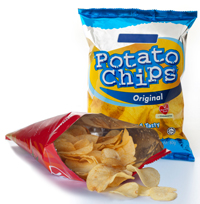 cast film used in potato chip packaging